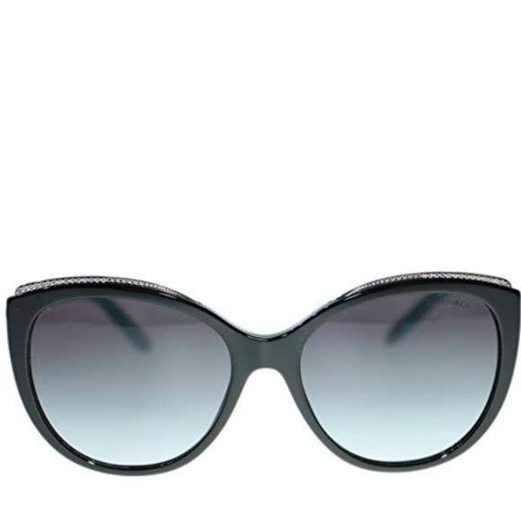 02d76801a8c Tiffany & Co. Black Cat Eye Women Black/Brown NWT